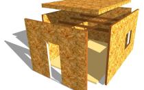 Виды используемых плит для строительства каркасных домов