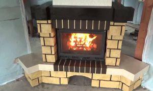 Печное отопление в каркасном доме своими руками