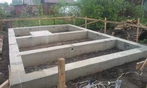 Особенности конструкции фундамента для каркасного дома