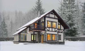 Как и чем утеплять конструкции каркасного дома для зимнего проживания