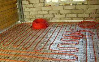 Система труб для монтажа теплого водяного пола