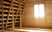 Как самостоятельно провести утепление крыши и перекрытий по балкам