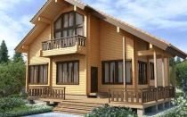 Строим каркасно бревенчатый дом сами