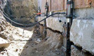 Процесс ремонта фундамента в деревянном доме своими руками