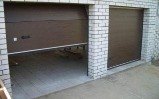 Основные критерии выбора гаражных секционных ворот
