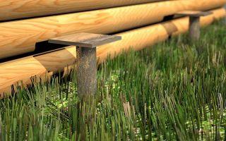 Как провести ремонт фундамента в деревянном доме?