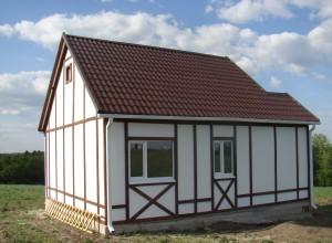 каркас крыши для каркасного дома