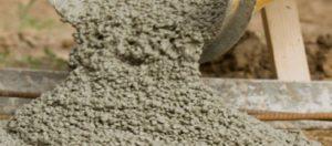 Бетон со щебнем средней фракции более приспособлен переносить высокие нагрузки
