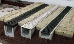 Бетонные лотки для ливневой канализации 2