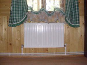 Двухтрубная система отопления дома с нижней разводкой