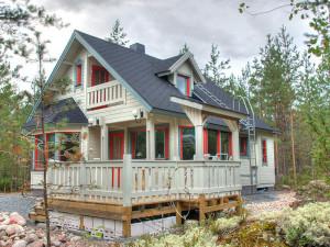 Финский каркасный дом 1
