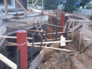 Гидроизоляция и земельные работы