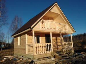 Этапы строительства двухскатной крыши