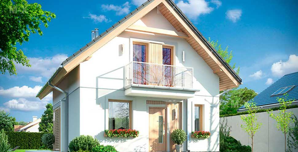 Как построить одноэтажный дом с мансардой и увеличить жилое пространство