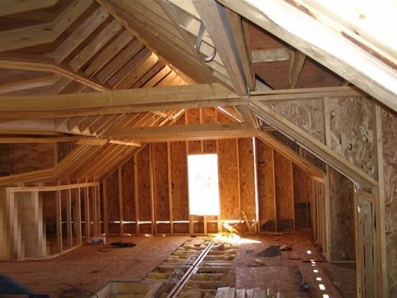 Как утеплить деревянную крышу своими руками
