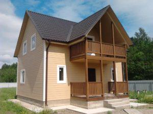Технология строительства каркасного коттеджа своими руками - виды домов и фундаментов 2