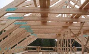 каркас крыши для каркасного дома 1