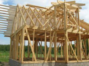 каркас крыши для каркасного дома 4