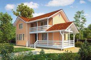 Каркасные дома Викинг в динамике развития проекта