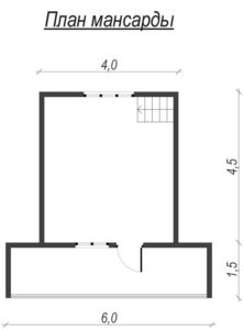 Каркасный дом с балконом и террасой 2