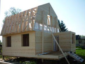 Каркасный дом строится один сезон