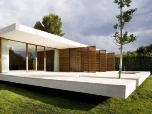 Каркасный дом в стиле минимализм 2