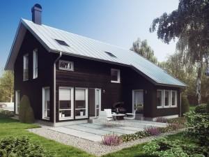 Каркасные дома в стиле модерн