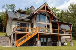 Каркасный дом в стиле модерн 3