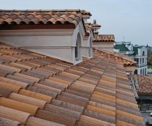 Вид черепицы на крыше дома - виды черепицы