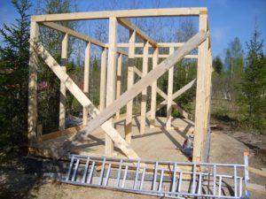 Материалы для верхней обвязки каркасного дома