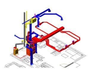 Монтаж и обустройство системы воздушного отопления в каркасном доме 2