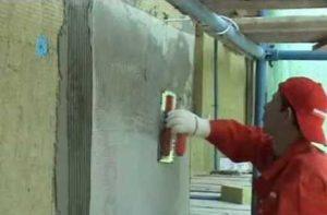 Основные этапы теплоизоляции стен штукатуркой