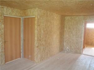 Особенности внутренних стен каркасного дома