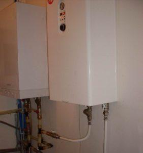 Отопление дома из арболита газом