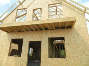 Основные этапы строительства сборно-каркасного дома