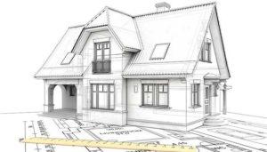 Приготовления к постройке дома за городом