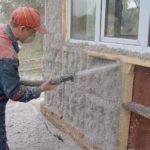 Применение эковаты для утепления каркасного дома
