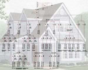 Проектирование электроснабжения частного дома 1