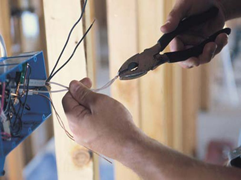 Проектирование электроснабжения частного дома 2