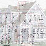Схема-чертеж электропроводки в каркасном доме