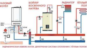 Схема установки бойлера в частном доме