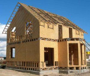 Строим каркасный дом из ОСБ плит своими руками 1