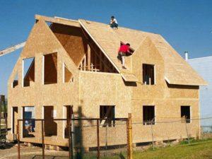 Строим каркасный дом из ОСБ плит своими руками 3
