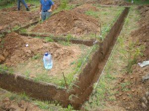 Строительство бутового фундамента своими руками 4