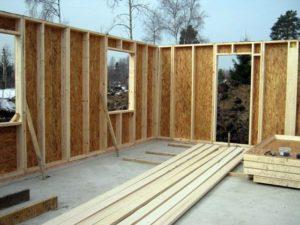 Особенности строительства своими руками каркасного дома из ОСБ