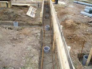 Строительство свайно-ленточного фундамента своими руками 4