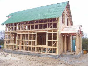 Технология строительства каркасного коттеджа своими руками - виды домов и фундаментов 1