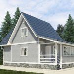 Технология возведения каркасного дачного домика, советы и стоимость