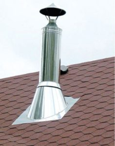 Типы труб для дымохода каркасного дома