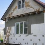 Утепление каркасного дома пенопластом